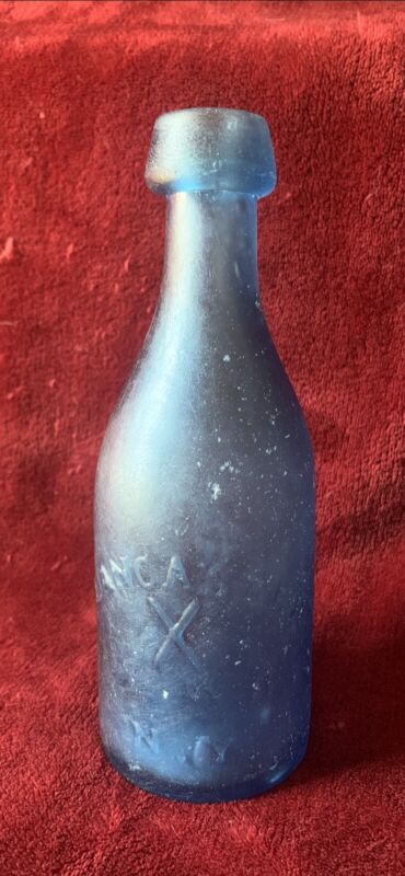 LANCASTER X GLASS WORKS XX N.Y. BLUE FROST EXTREMLY RARE!!!