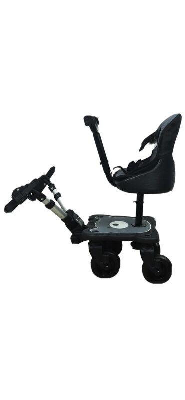 Englacha 2-in-1 Cozy Rider 4 Wheel Child Universal Stroller Seat Board NEW