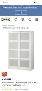 2 WARDROBES FOR $200 or $100 each