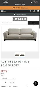 James Lane - 3 seater couch - 1 year old