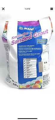 Mapei Keracolor S 10lb Bag Sanded Grout Ivory Color S 39, 23910