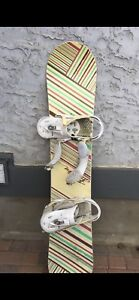 Burton Snowboard  with size 6 shoes