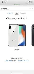 iPhone X for sale!