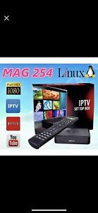 Iptv service and much more avilable mag box 322
