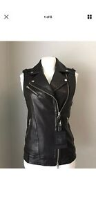BRAND NEW MACKAGE FREDERICA LADIES VEST NEW WITH $495 tags