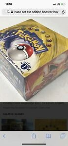 Buying base set 1st edition booster box / others