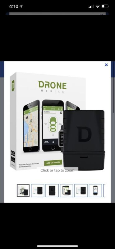 DRONE MOBILE DR6400 Smart Phone Vehicle Control & Gps