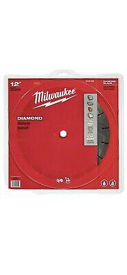 Case Of 10 Milwaukee 49-93-7035 12 Diamond Segmented Concrete Cutting Saw Blade