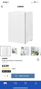 Brand new in box Ikea Lagan mini fridge