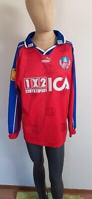 Helsingborgs IF SWEDEN #21 MATCH WORN 1997 1998 shirt football Home Puma Retro  image