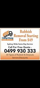 🔴 CHEAPEST JUNK RUBBISH REMOVAL FROM $49🔴