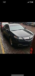 2012 Acura TL elite package mint fresh safety top of the line