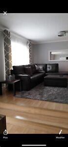 Sofa sectionnel à vendre 750$$
