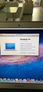 MacBook Air 13 inch 2011