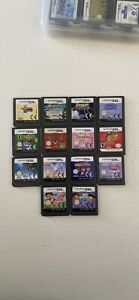 Assorted DS Games $5 each