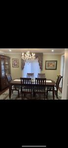 Dining room set with buffet and dutch