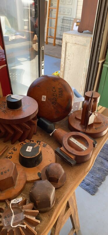 Antique Dry Dock shipbuilding molds Maritime NYC