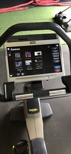 Commercial upright bike with display