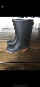 Boys rubber boots size 6