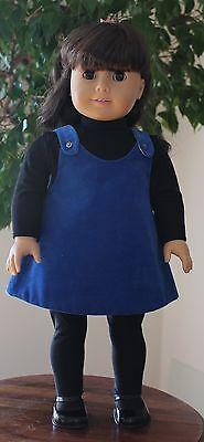 """Jumper T-Shirt & Tights Sewing Pattern Fits 18"""" American Girl Doll #47"""