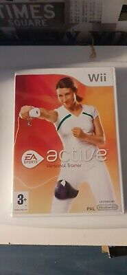 EA Sports Active Personal Trainer Game Nintendo Wii & Wii U .Free UK Postage segunda mano  Embacar hacia Spain