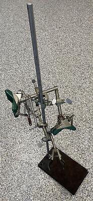 Vintage Lot Cenco Lab Equipment Retort Stands Rings Clamps Etc Fischer Castaloy