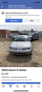 2002 Saturn SL1 Very good condition