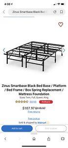 Double size platform frame