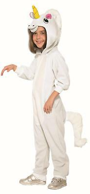 Unicorn One Piece Pajamas Kids Halloween Costume Small 4-6 (One Piece Pajama Halloween Costumes)