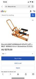 Pro Lift hydronic utility lift