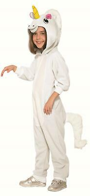 Unicorn One Piece Pajamas Kids Halloween Costume Medium 8-10 (One Piece Pajama Halloween Costumes)