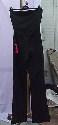 BNWT Yummie Tummie Shape Wear All-In-One Black Control Waist Jumpsuit SZ S $98