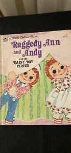 RAGGEDY ANN and ANDY Little Golden Book vintage collectable (1973)