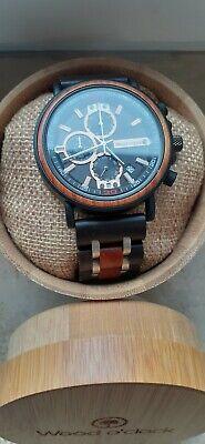 Herren Armbanduhr aus Holz Wood o'clock - Kastanie