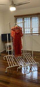 Clothes racks x3