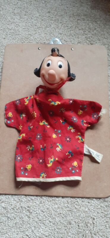 Vintage Olive Oyl Hand Puppet - King Features - Gund Mfg Co.