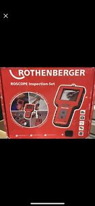 New Rothenberger RoScope unit c/w 3 modules attachments.