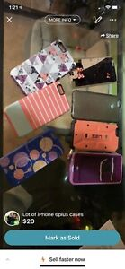iPhone 6 Plus cases lot Lifeproof & otter box included