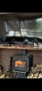 Firewood fireplace( wood stove )