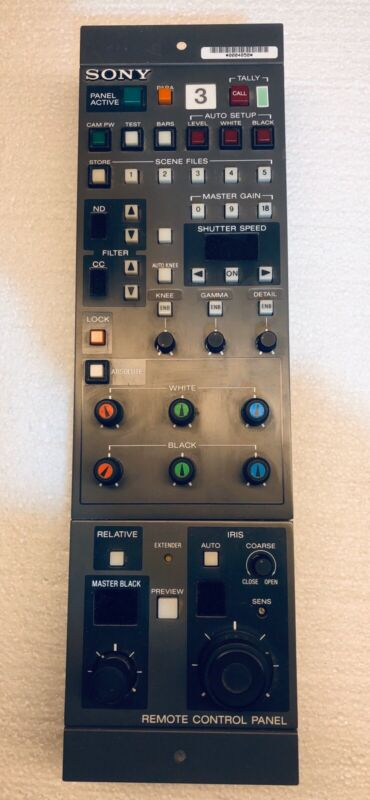 SONY Remote Control Panel RCP-3721