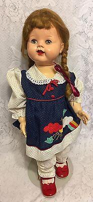 "22"" Vintage Flirty Eyes Ideal Saucy Walker Ideal Doll"