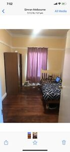 Room available for single