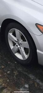 5x114.3 civic rims and tires