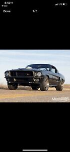 1967/8 Mustang Ring Brothers Front valance fibreglass
