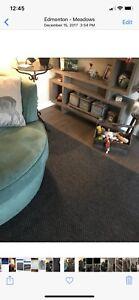 Grey indoor/outdoor rug