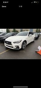 2018 Infinti Q50 Sport Lease - NEED GONE!!!
