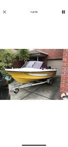 Mustang 1500 runabout fishing boat Edensor Park Fairfield Area Preview