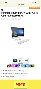 HP Pavilion 24-R047A 23.8' All-in-One Touchscreen PC