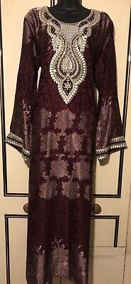 jalabiya maxi dress abaya jilbab farasha kaftan sizes LARGE UK SIZE 16/18 Only