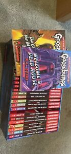 Goosebumps Monster collection includes 30 books